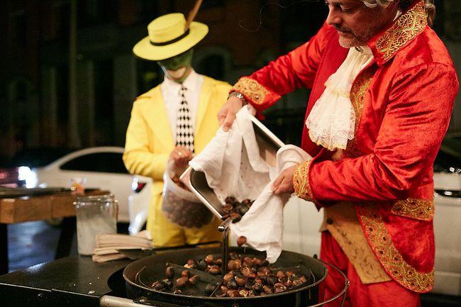 Звезды на праздновании Венецианского карнавала