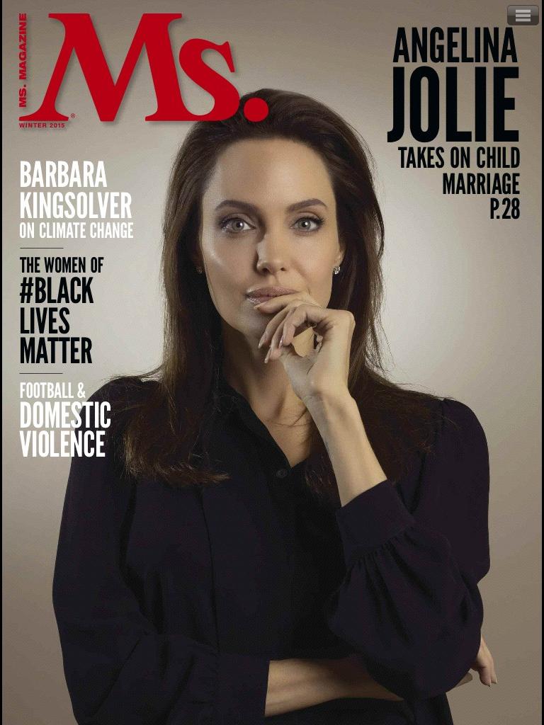 Анджелина Джоли блистает на обложке модного глянца
