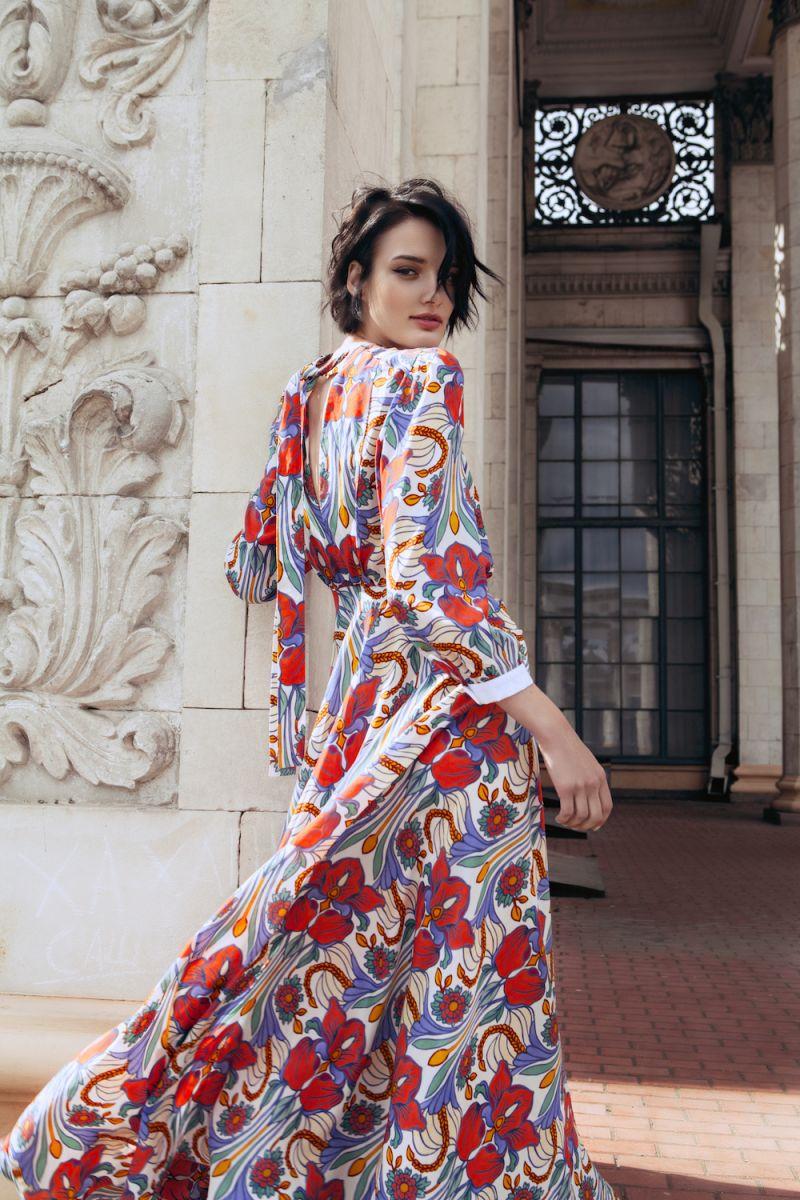Украинская топ-модель Марфа снялась в стильной фотосессии для модного бренда