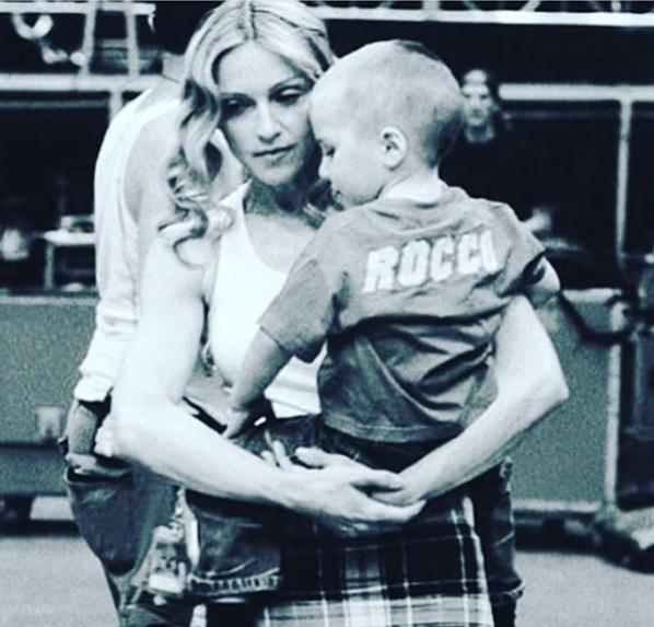 Мадонна удивила поклонников трогательным посланием к сыну