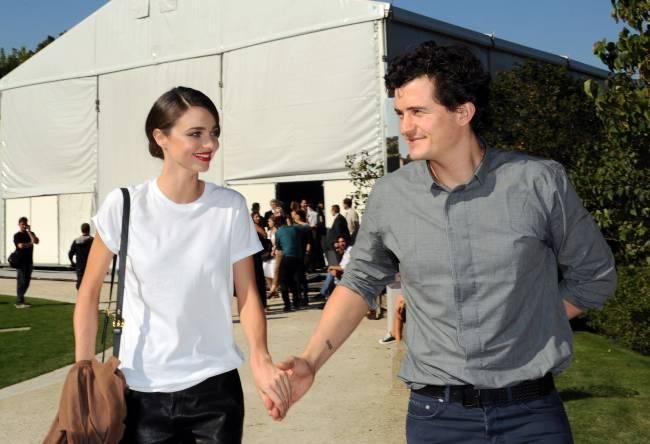 Орландо Блум прокомментировал новость о помолвке Миранды Керр