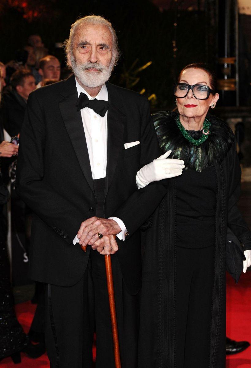 Кристофер Ли и его жена Биргит Кренке Ли, с которой они прожили более 50 лет