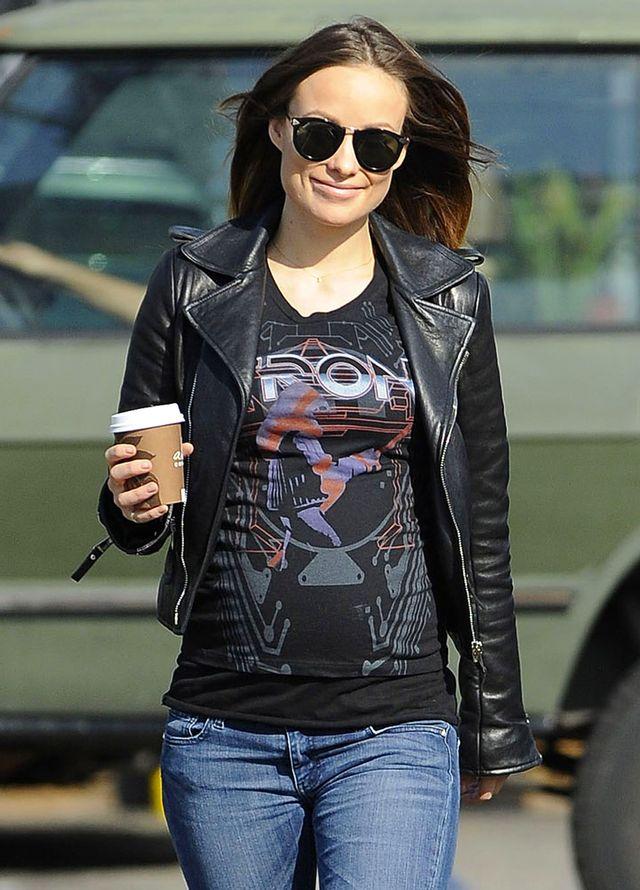 оливия уайлд беременна фото