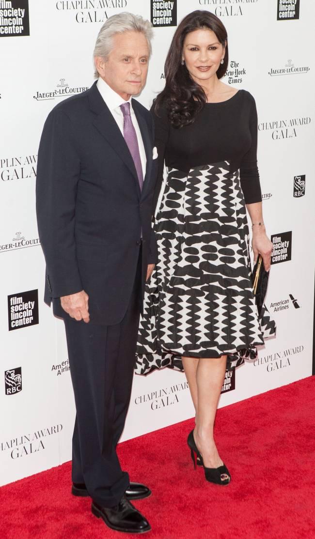 """Майкл Дуглас о браке с Кэтрин Зета-Джонс: """"Мы ценим наше счастье"""""""
