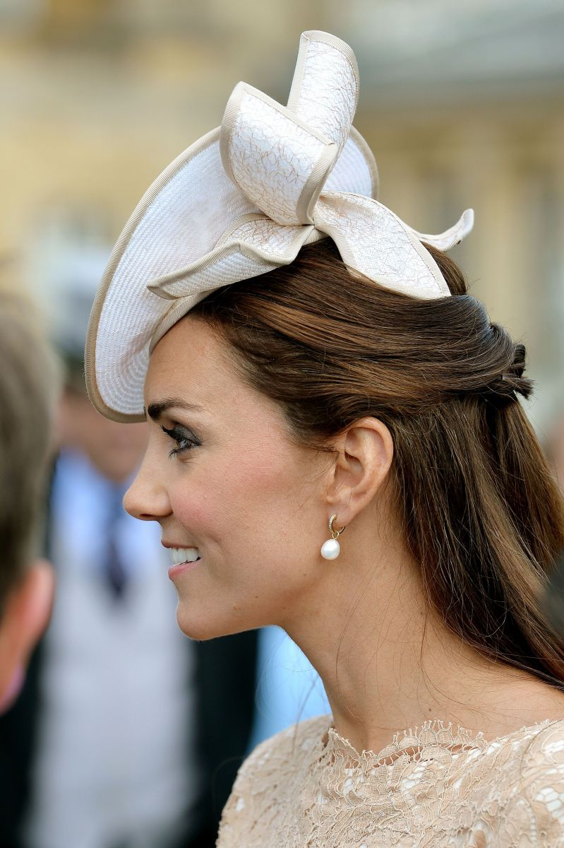 Кейт Миддлтон блистает в Букингемском дворце