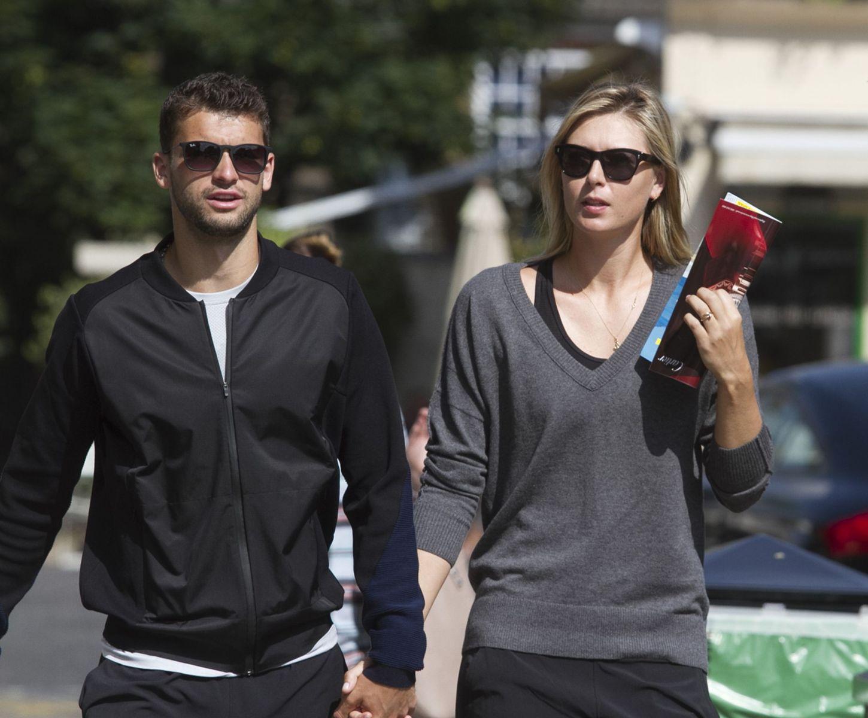 СМИ: Мария Шарапова рассталась с бойфрендом Григором Димитровым