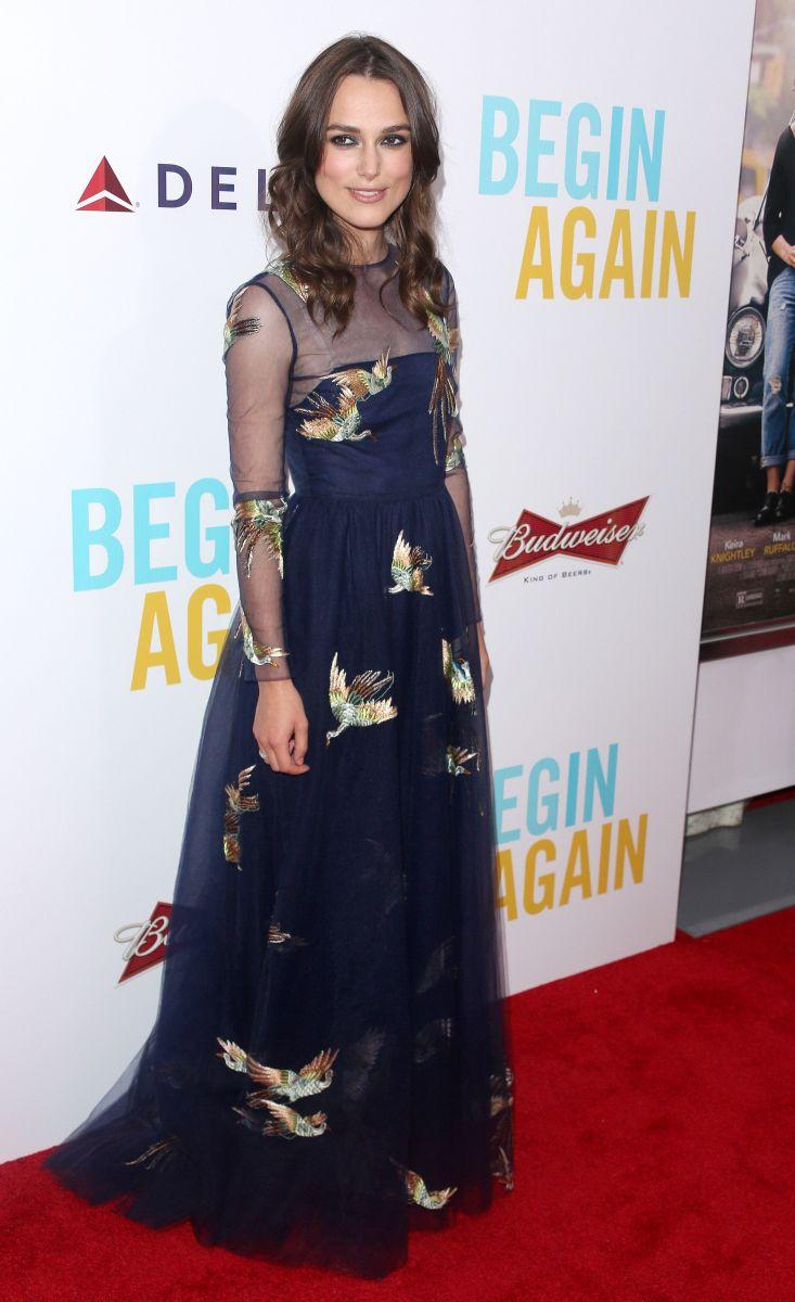 Кира Найтли блистает в платье от Valentino