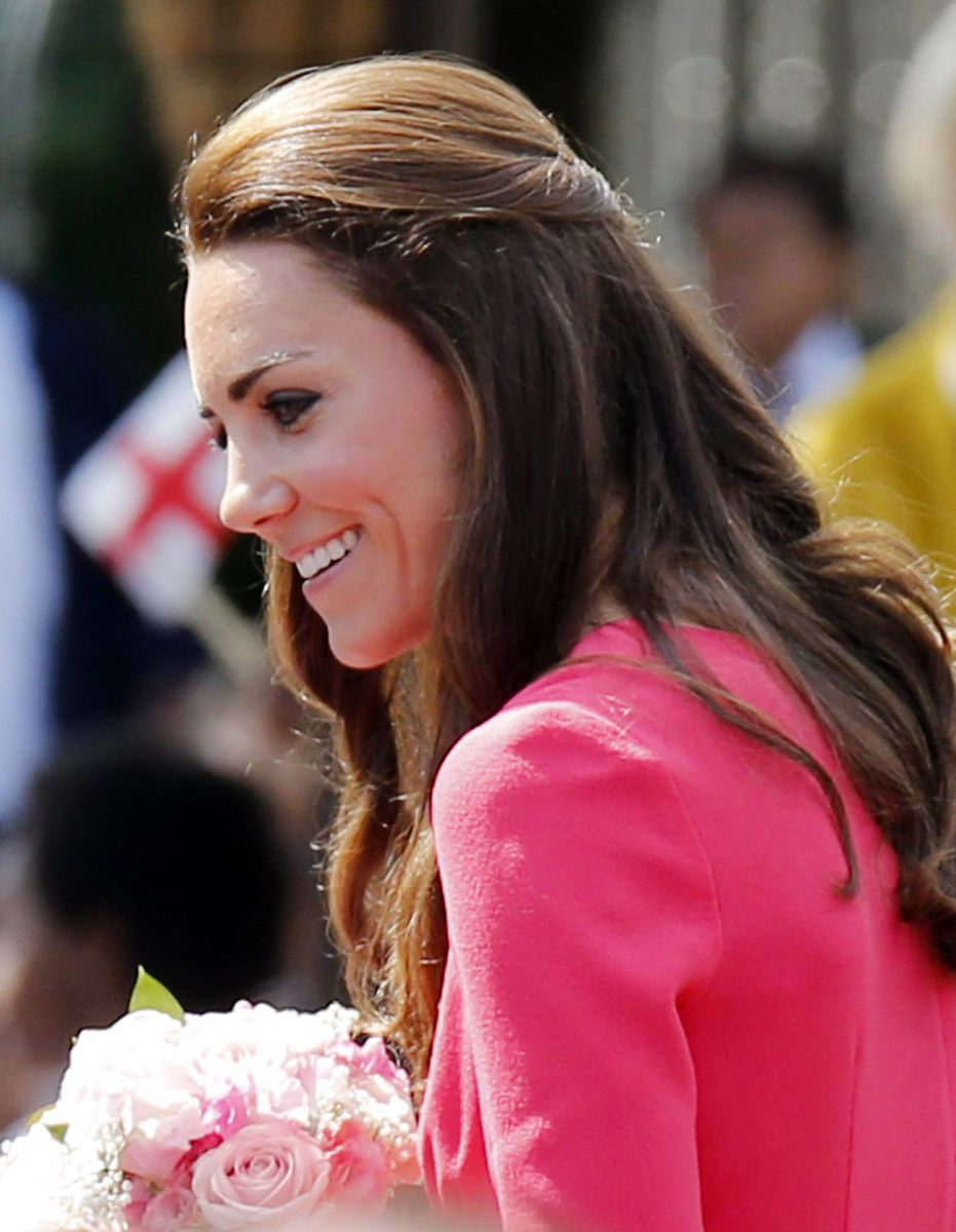Кейт Миддлтон покоряет своей красотой
