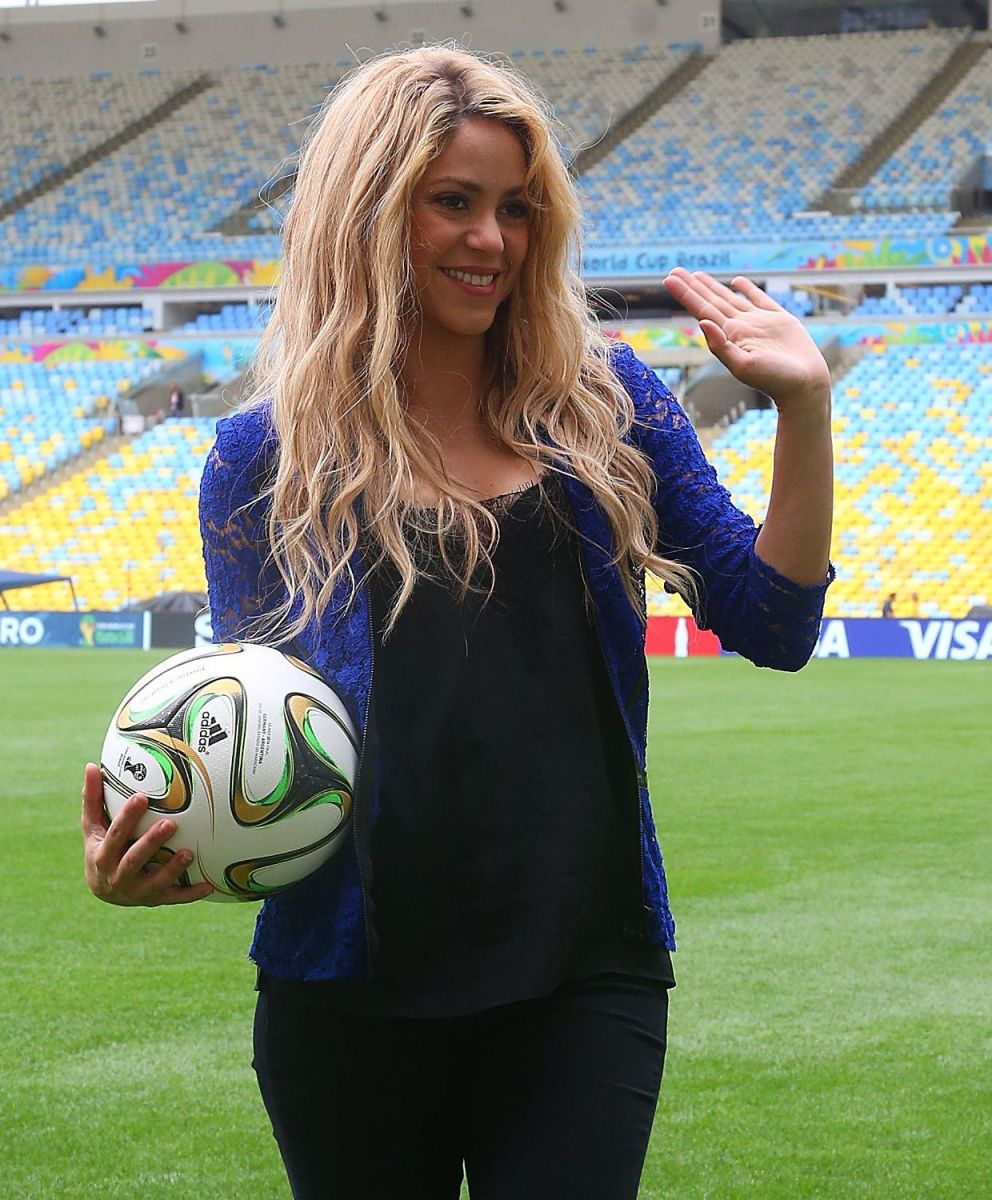 Шакира появилась на Чемпионате мира по футболу