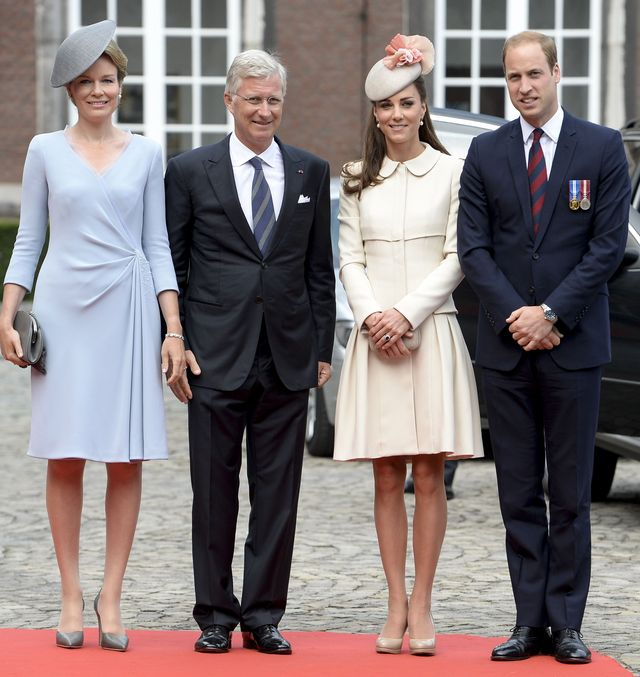 Кейт Миддлтон покорила Бельгию элегантным нарядом