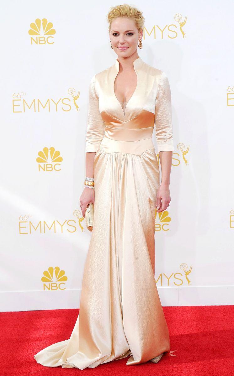 Платья звезд на Эмми 2014
