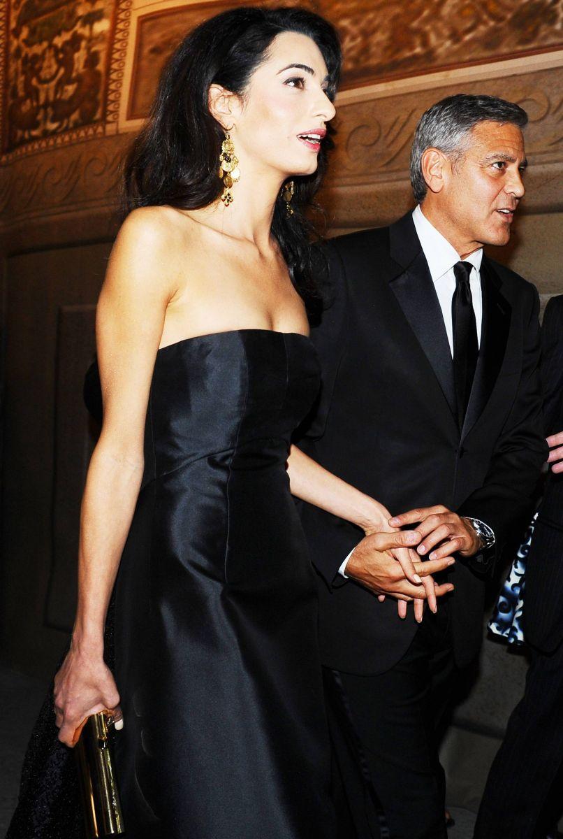 СМИ: Джордж Клуни и Амаль Аламуддин на грани развода