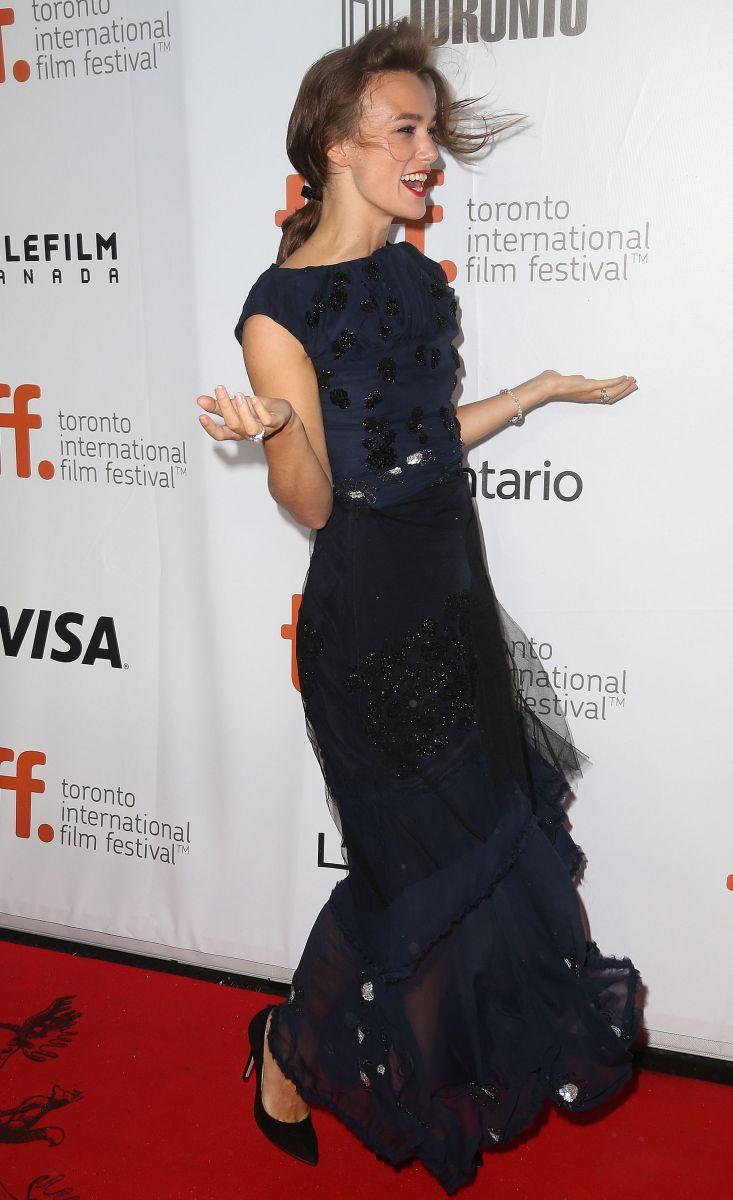 Кира Найтли блистает на кинофестивале в Торонто