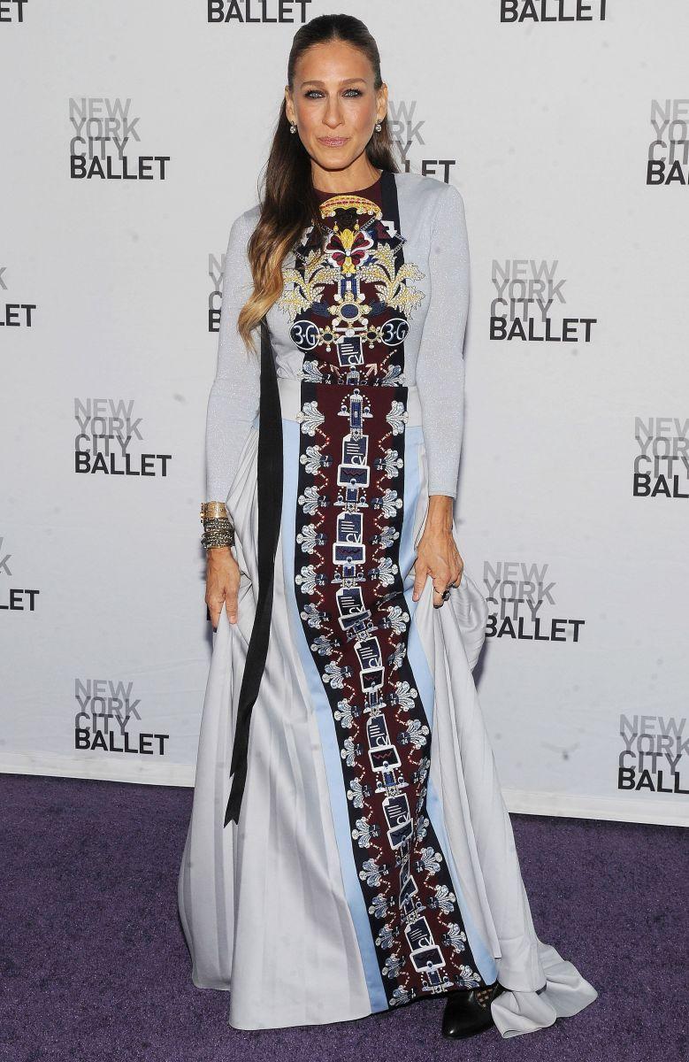 Сара Джессика Паркер блистает в роскошном наряде