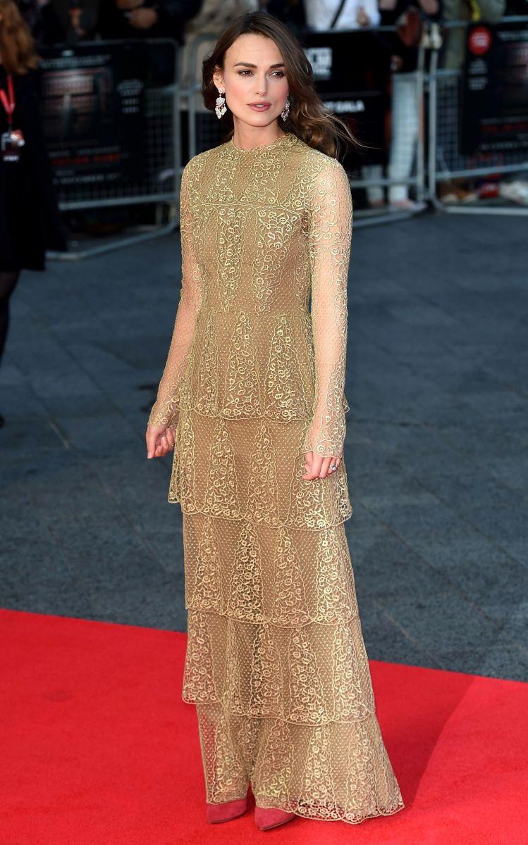 Кира Найтли блистает на Лондонском кинофестивале