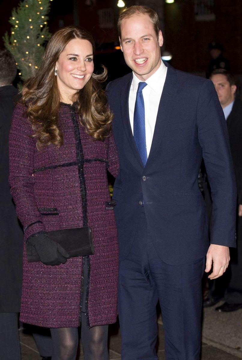 Кейт Миддлтон и принц Уильям прибыли в США