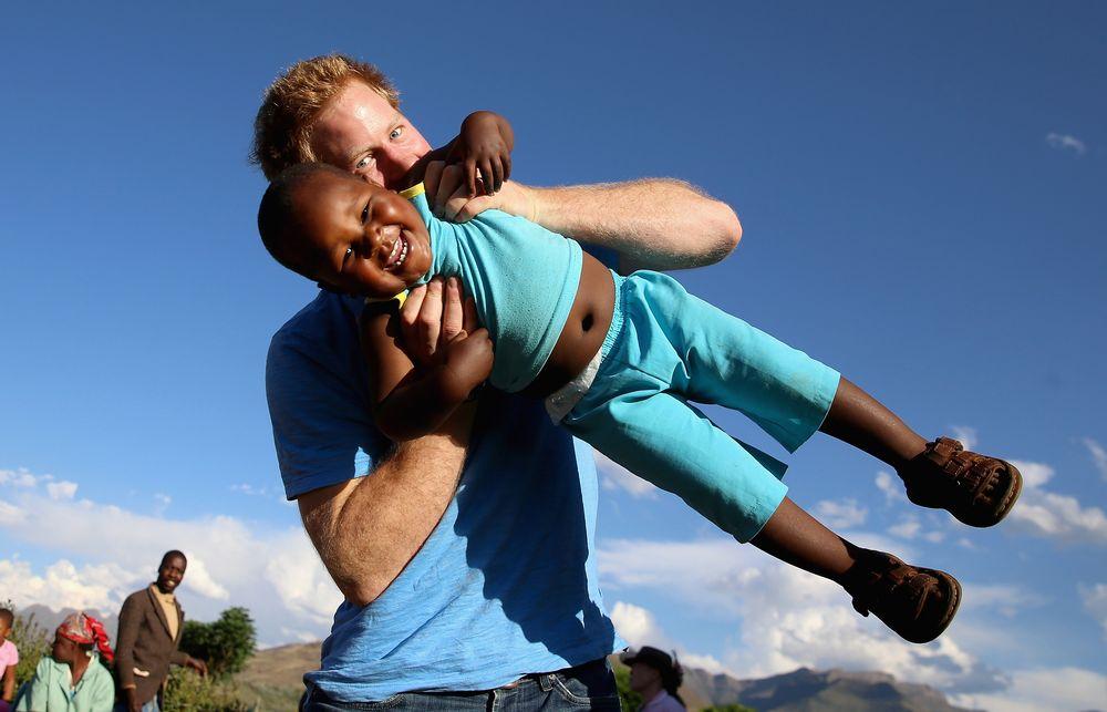 Принц Гарри в Лесото
