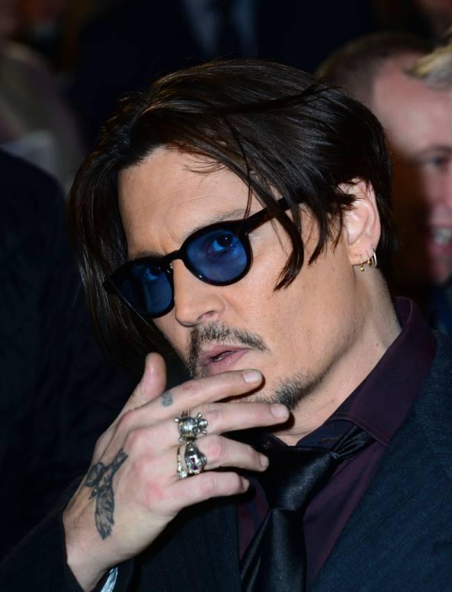 Джонни Депп стал лицом бренда Dior