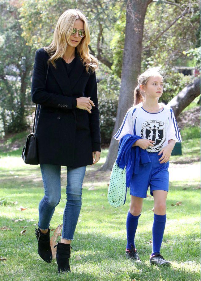 Счастливая мамочка Хайди Клум показала повзрослевших детей