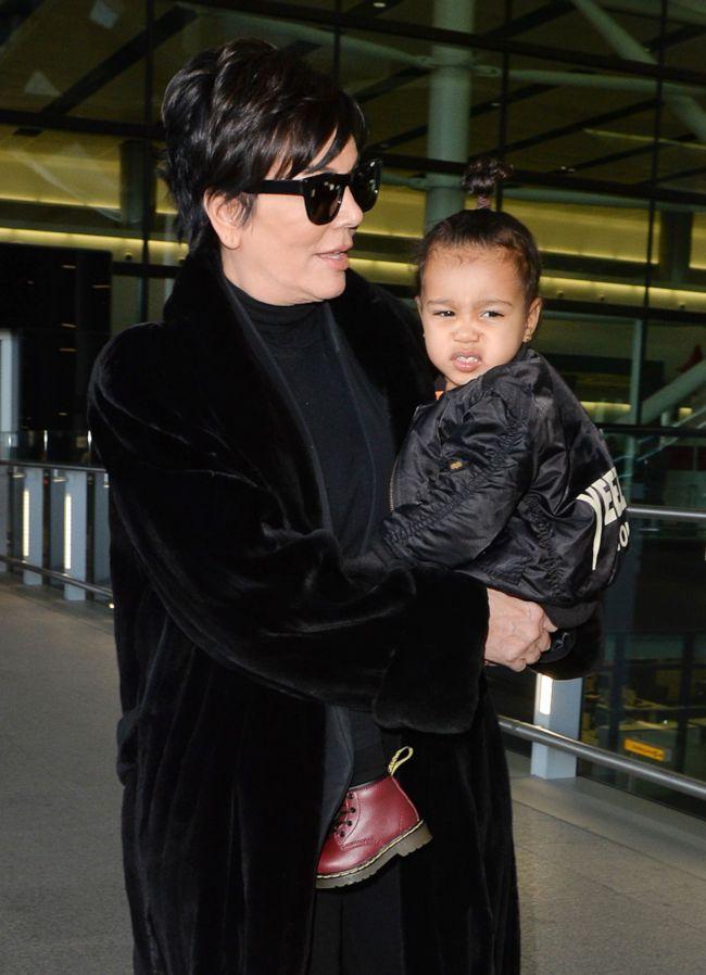 Повзрослевшая дочь Ким Кардашьян и Канье Уэста появилась на публике без родителей