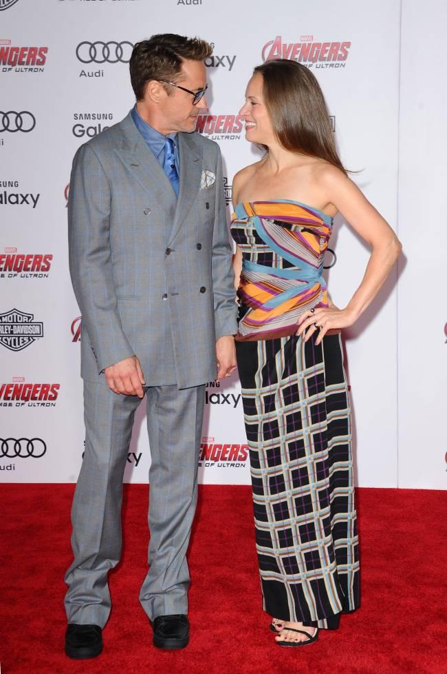 """""""Идеальные 10 лет"""": Роберт Дауни-младший поздравил жену с годовщиной"""