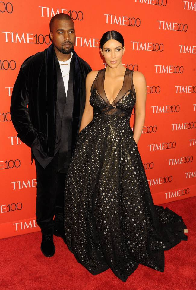 Канье Уэст и Ким Кардашьян блистают на гала-вечере Time