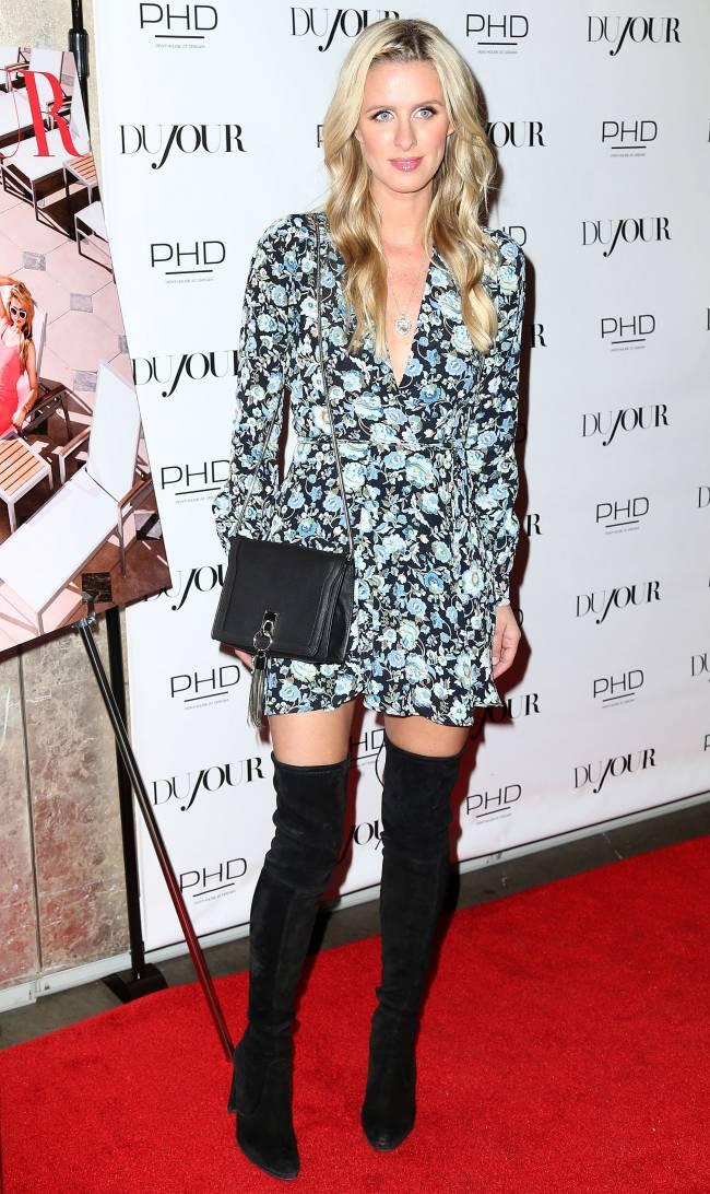 Модные сестрички: Пэрис и Никки Хилтон блистают на вечеринке в Нью-Йорке
