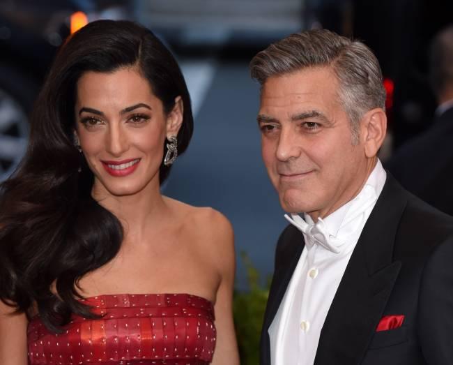 """Джордж Клуни: """"Я не могу прожить без Амаль даже неделю!"""""""