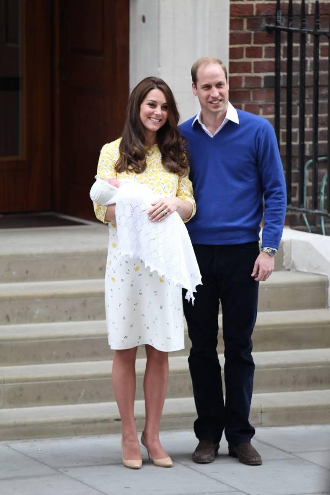 Стало известно, когда пройдут крестины дочери Кейт Миддлтон и принца Уильяма