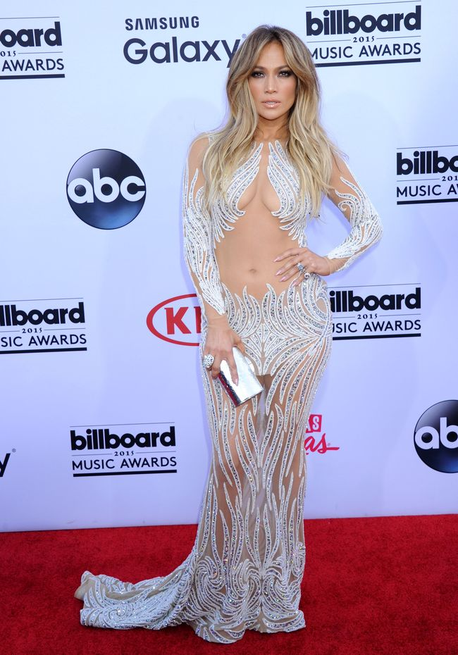 Дженнифер Лопес на церемонии Billboard Music Awards-2015