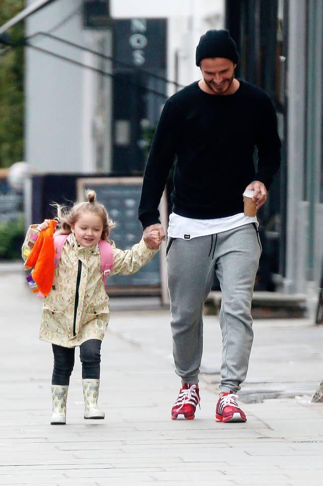 Неожиданно: Дэвид Бекхэм запретил супруге Виктории делать дочери короткую стрижку