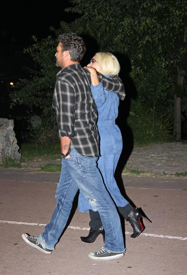 Леди Гага и Тэйлор Кинни сходили на романтическое свидание