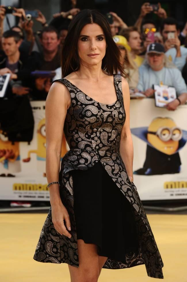 50-летняя Сандра Баллок демонстрирует неувядающую красоту