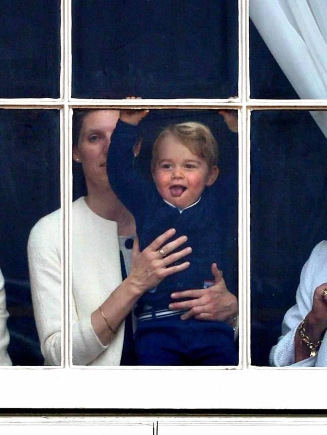 С днем рождения, Джордж: лучшие фото маленького принца Великобритании