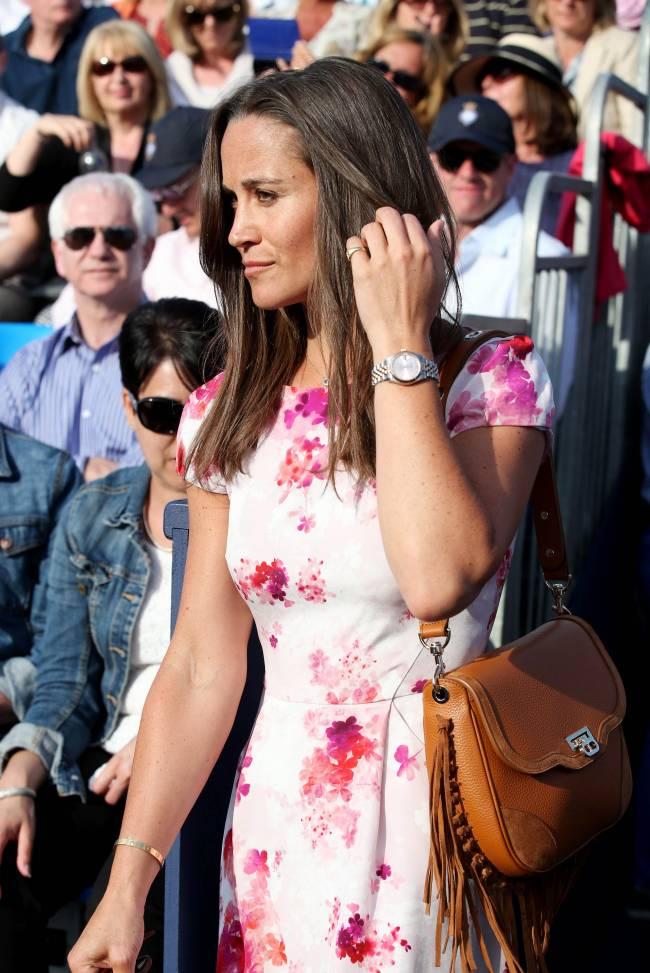 Пиппа Миддлтон блистает в платье собственного дизайна