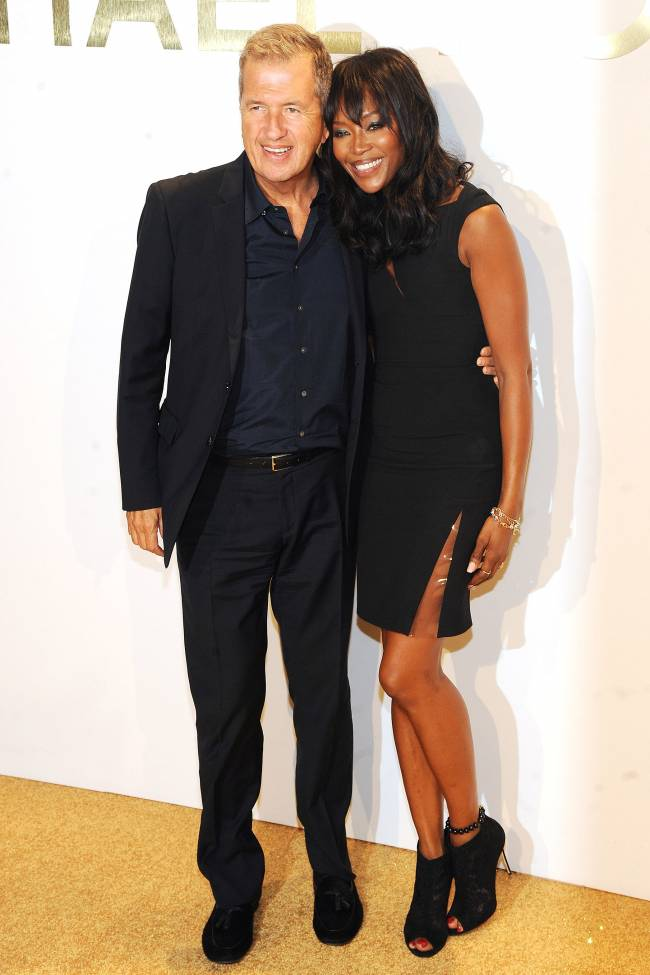 Неподражаемые Марио Тестино и Наоми Кэмпбелл блистают на вечеринке в Нью-Йорке