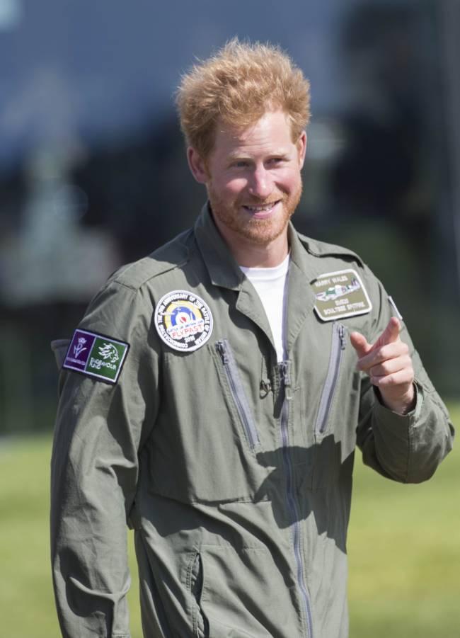 Принц Гарри отметил день рождения с экс-возлюбленной Крессидой Бонас
