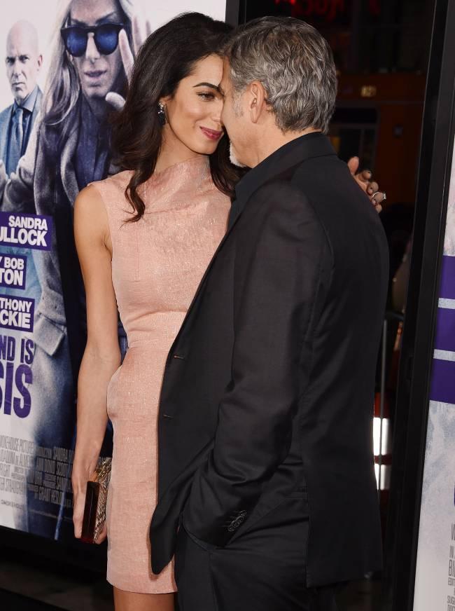 Джордж и Амаль Клуни ждут первенца - СМИ