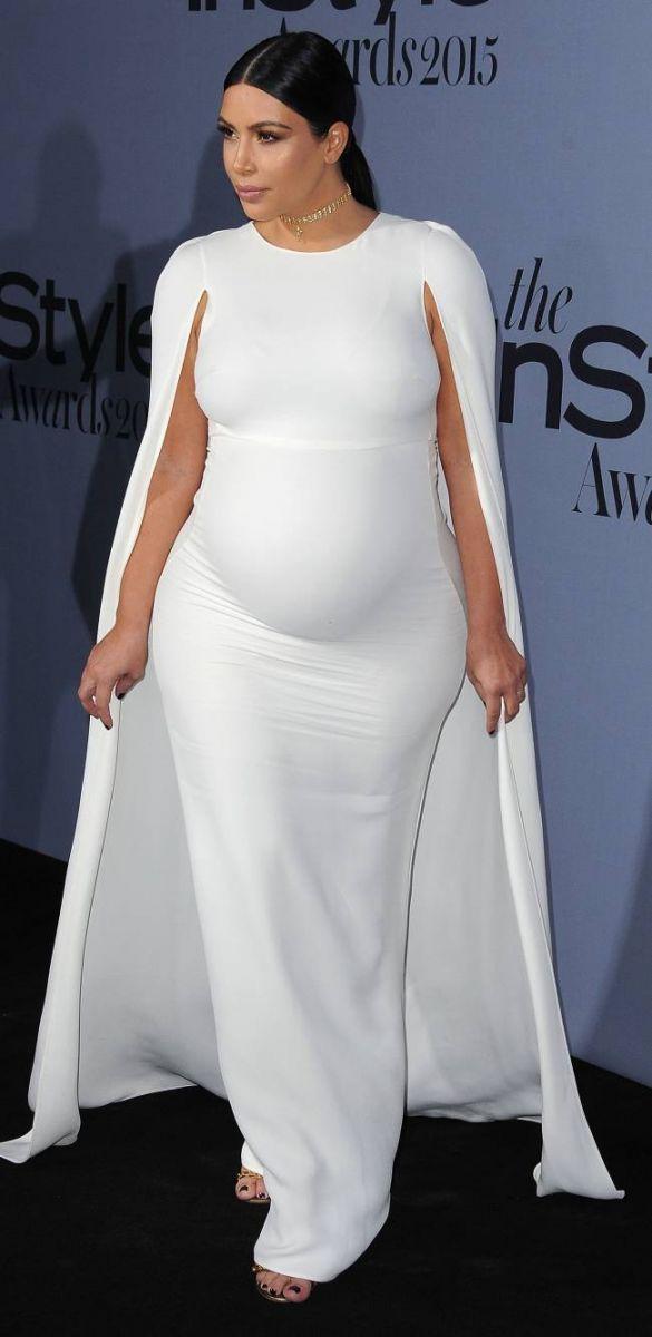 """Ким Кардашьян о своей фигуре: """"Я чувствую себя, как чертов кит!"""""""