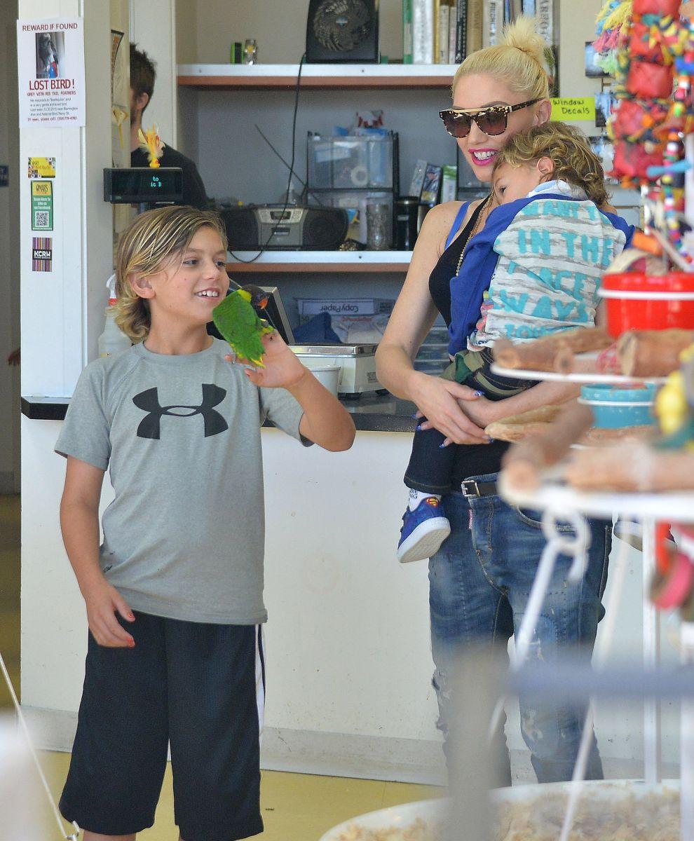 Гвен Стефани призналась, что не расстроится нетрадиционной ориентации своих сыновей