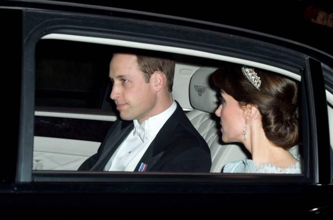 Кейт Миддлтон появилась на публике в диадеме принцессы Дианы