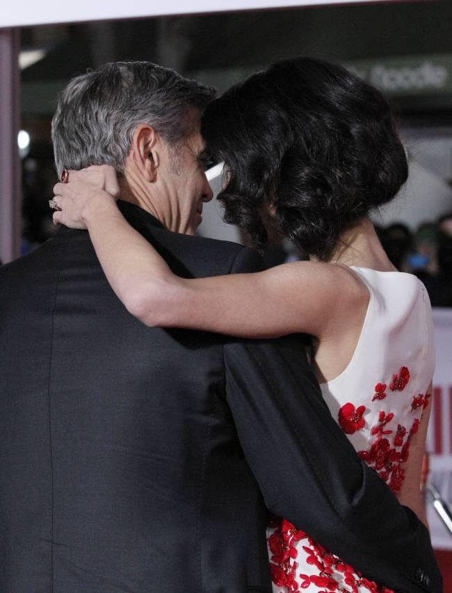 """Джордж Клуни о браке с Амаль: """"Я никогда раньше не был так счастлив в отношениях"""""""