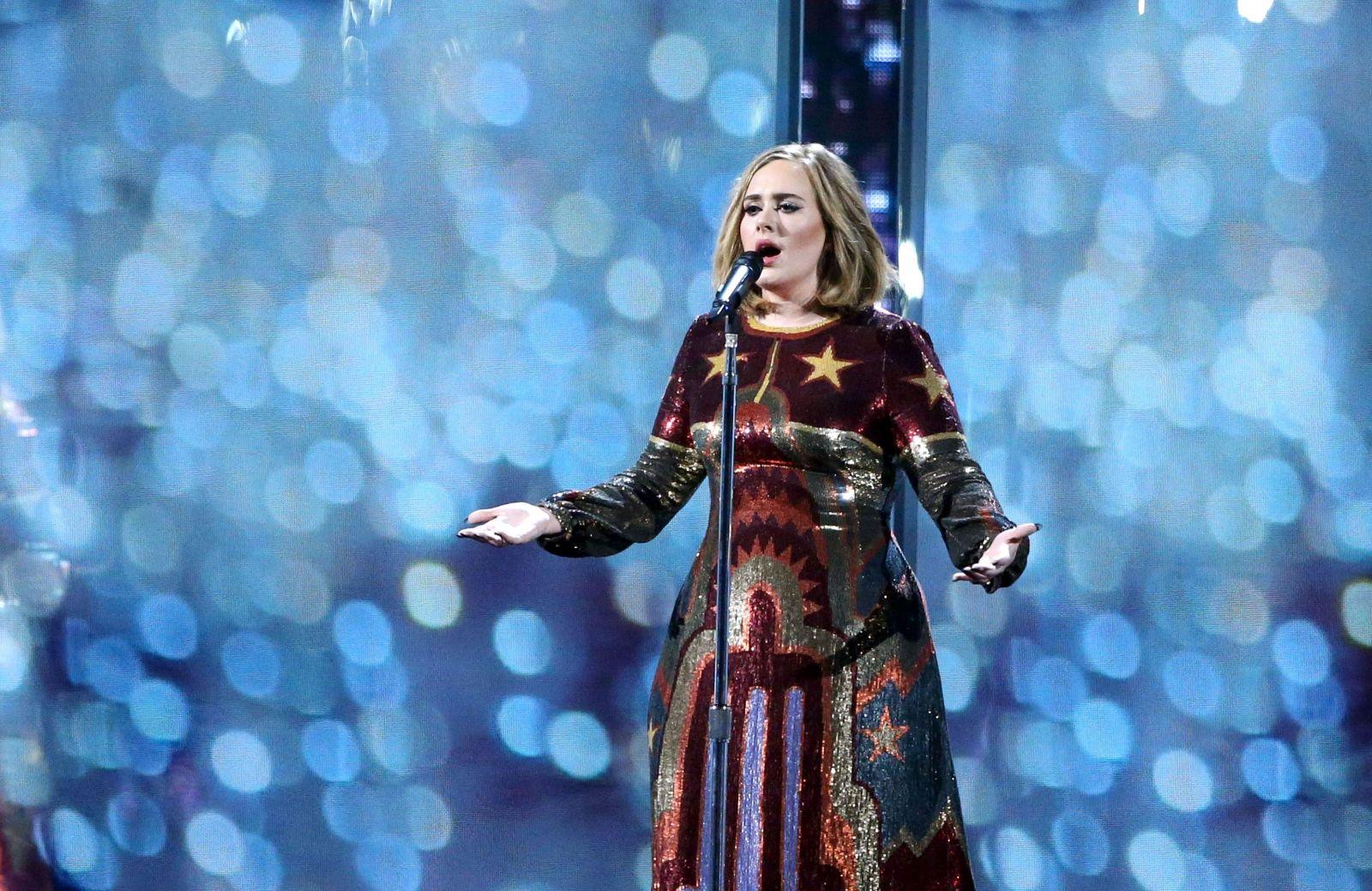 Британская эстрадная певица Адель прервет карьеру надва года ради пополнения семьи