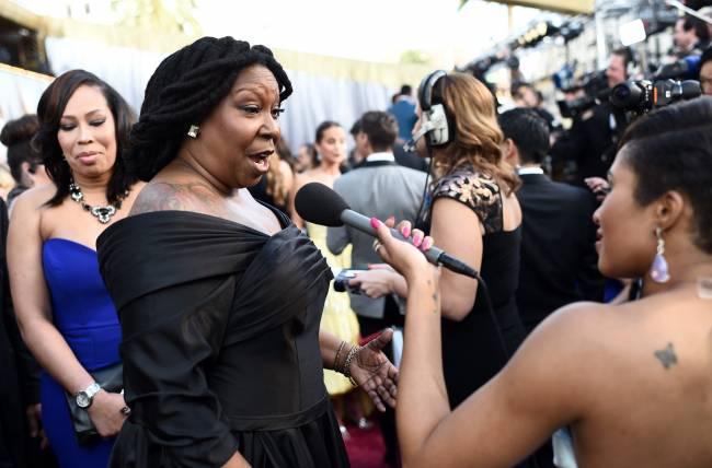 Невероятно: Вупи Голдберг шокировала публику своей полнотой