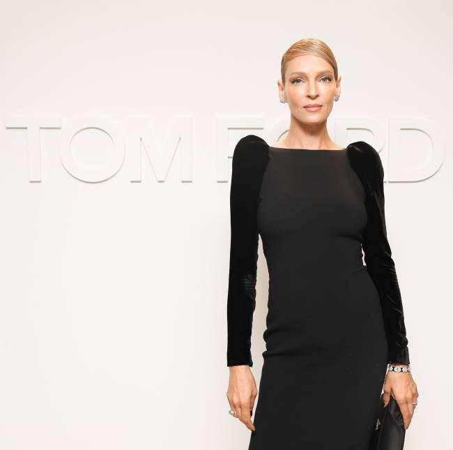 Легендарная блондинка Ума Турман кардинально сменила цвет волос