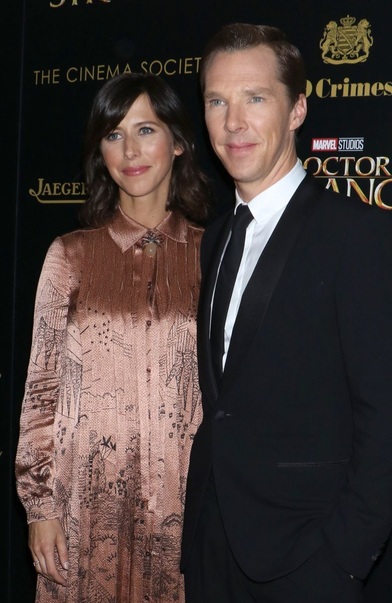 бенедикт камбербэтч фото с женой