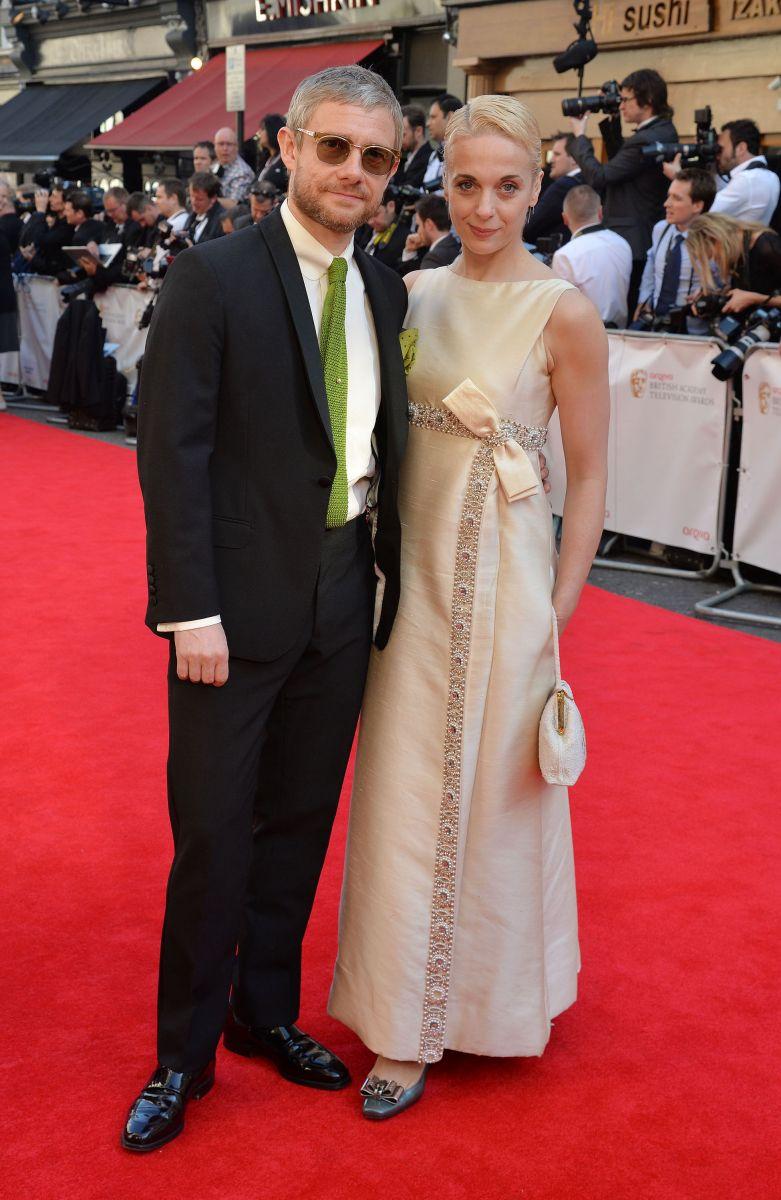 """СМИ: Звезда сериала """"Шерлок"""" Мартин Фриман развелся с женой из-за измены"""