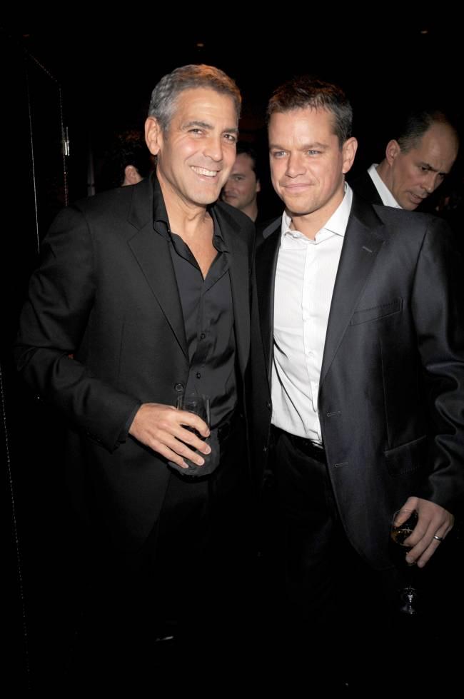 Мэтт Дэймон об отцовстве Джордж Клуни: