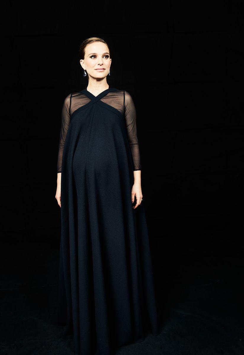 Беременная Натали Портман снялась в превосходной фотосессии на кинофестивале