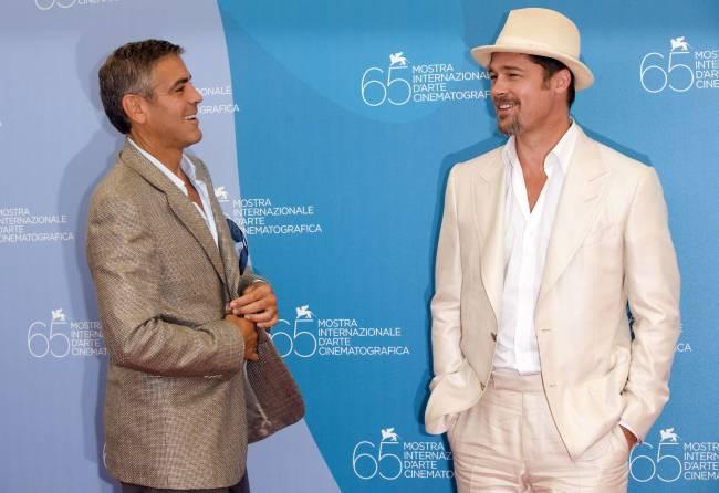 Джордж Клуни готовит для Брэда Питта розыгрыш, который разрушит его карьеру